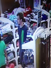 Police are searching for a man they said photographed a 14-year-old girl who was changing clothes in an outlet store near Rehoboth Beach.
