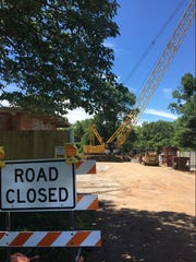 Dig Greenville project enters blasting phase on Westfield