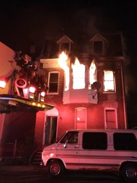 Pattison Street fire