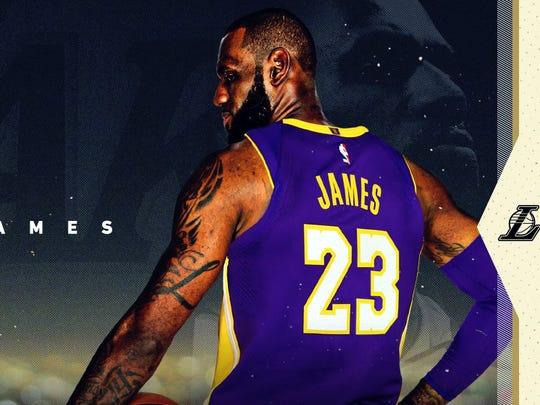 LeBron James buscará catapultar a los Lakers de Los