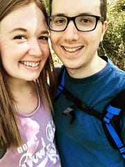 Caitlin Davis and Andrew Denderlein met at the Nilles