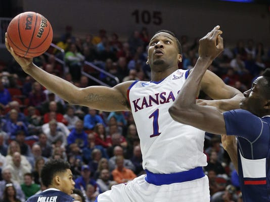 NCAA Tournament: Connecticut vs. Kansas