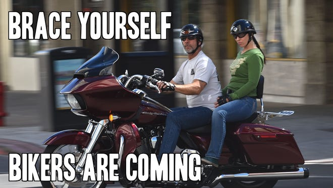 Prepare for the Street Vibrations Fall Rally, Sept. 23-27, 2015.