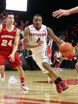 Former Rutgers standout Myles Mack (file)