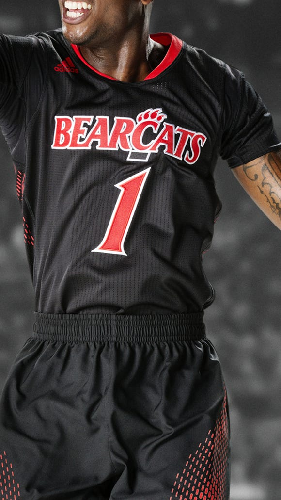 The UC Bearcats will wear these uniforms during the postseason.