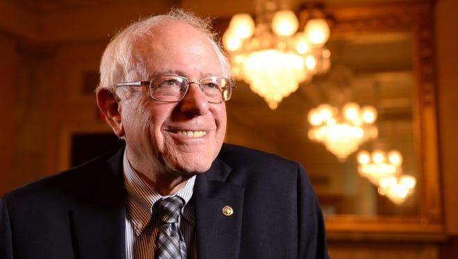 Sen. Bernie Sanders, I-Vt., meets with USA TODAY Washington Bureau Chief Susan Page for a Capital Download segment.