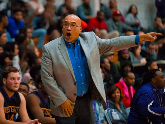 Westgate coach Oliver Winston and his Tigers are the No. 1 seed in the boys basketball Class 4A playoff bracket.