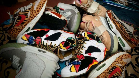 BHT Fest will feature vendors buying, selling and trading rare and collectible sneakers from noon to 7 p.m. at Legendary Tipsy Tiger, 1590 George Dieter.