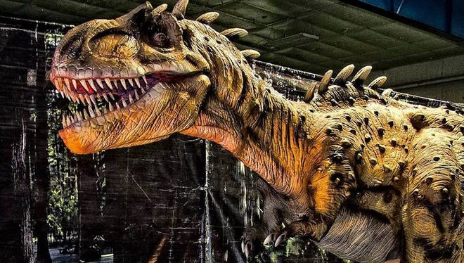 Jurassic Tour will bring its lifesize dinosarus to the El Paso County Coliseum May 12-13.