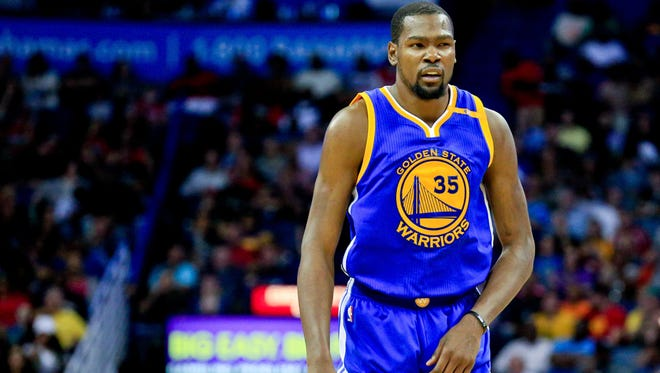 Golden State Warriors forward Kevin Durant will face his old teammate Russell Westbrook Thursday.