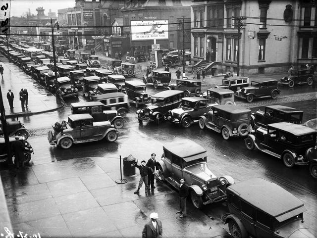 1900-1930: The years of driving dangerously