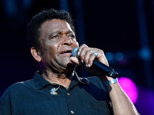 """Charley Pride performs at the 2018 CMA Music Fest June 8, 2018, at Nissan Stadium in Nashville in this file photo. His life is the focus of a new documentary, """"Charley Pride: I'm Just Me,"""" scheduled to premier at Franklin Theatre Friday, Feb. 8, 2019."""