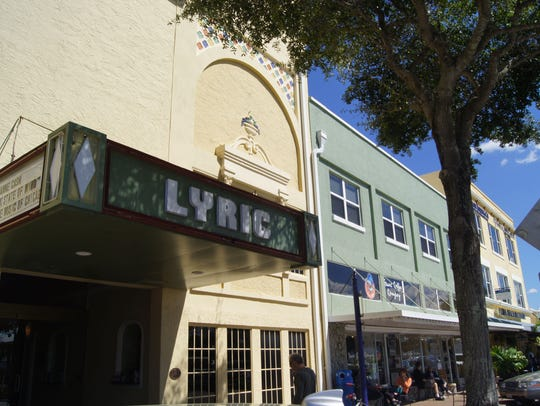 Stuart's Lyric Theatre is a central downtown gathering