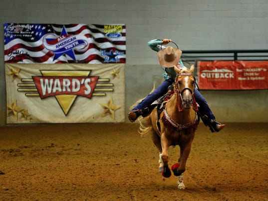 TCL Barrel Racing Jackson Sunday Metro Section