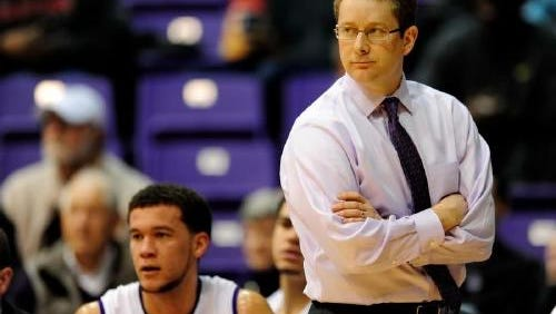 Furman coach Niko Medved