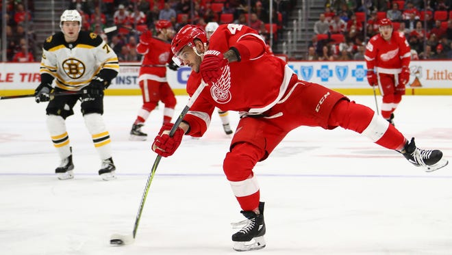 Martin Frk is hoping to become a regular in the Detroit Red Wings' lineup again after a stint as a healthy scratch.