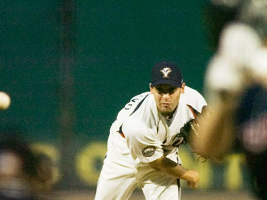 Matt DeSalvo pitched five effective innings on Friday for the York Revolution.