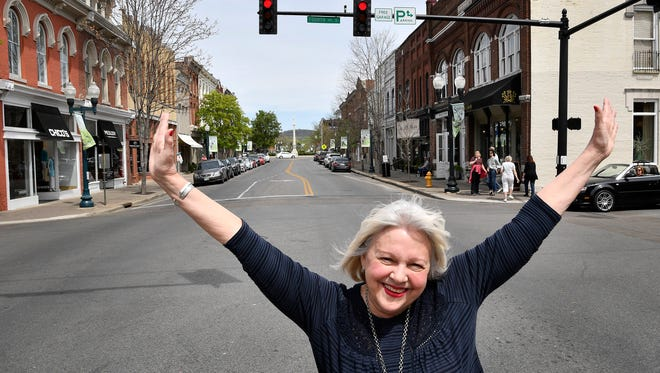 Mary Pearce, the current president of the Heritage Foundation of Franklin & Williamson County, is retiring at the end of April, after almost 30 years at the organizationMonday April 10, 2017, in Nashville, TN