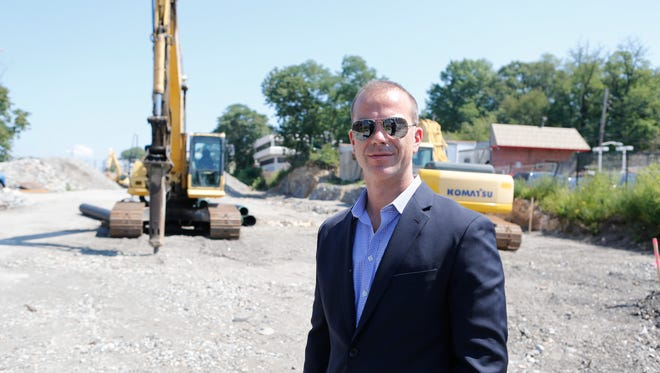Jim Wendling from Wilder Balter Partners, the developer of the Pinebrook Condominium at the site in Larchmont on Aug. 26, 2014.