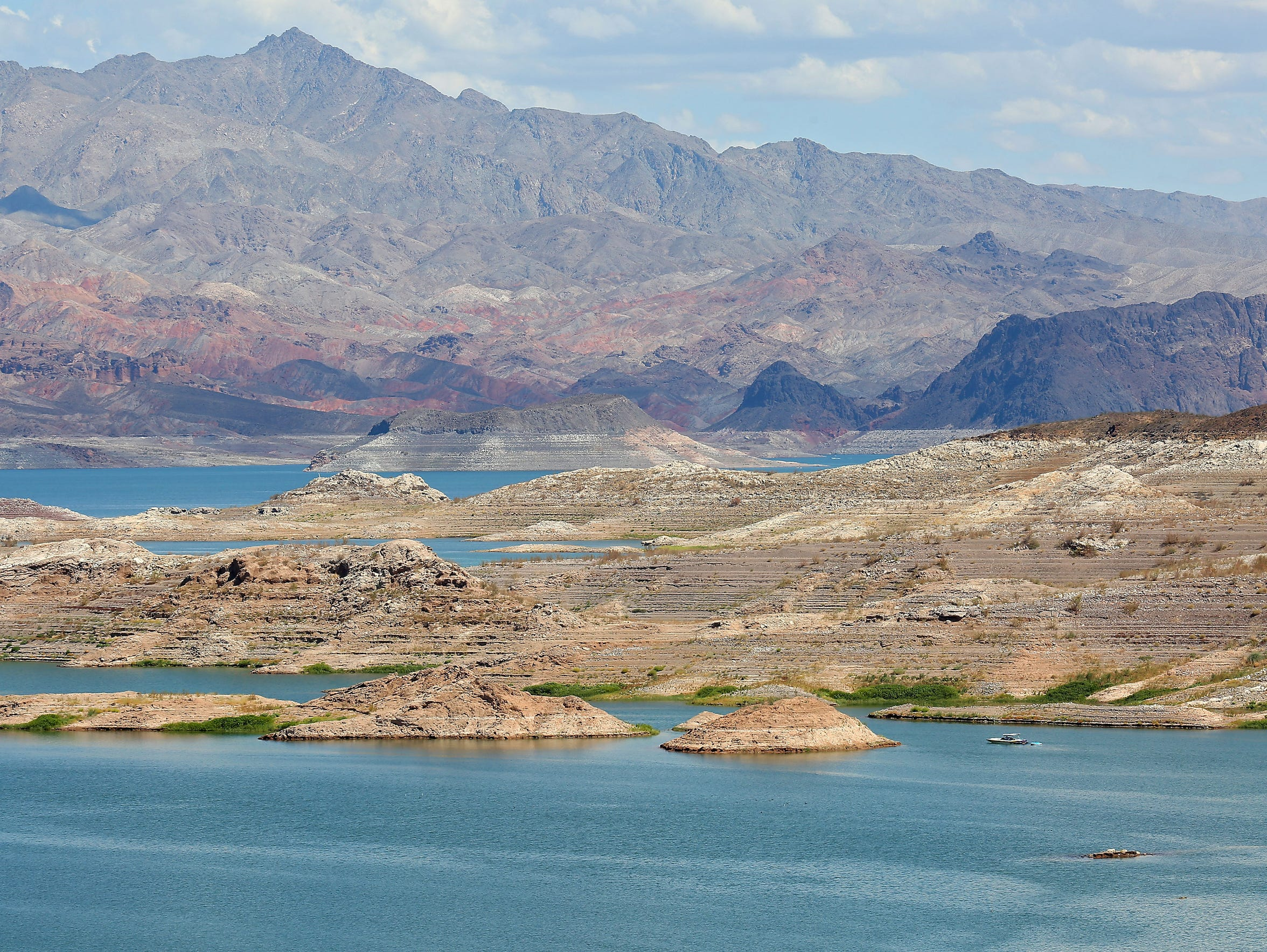 Lake Mead is the country's largest reservoir. California,