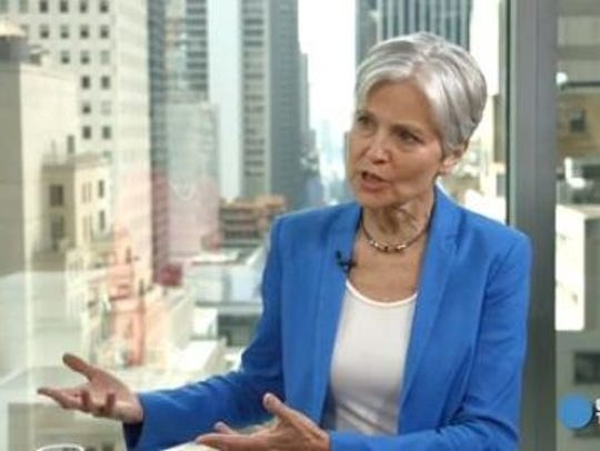 Green Party 2016 presidential nominee Jill Stein.