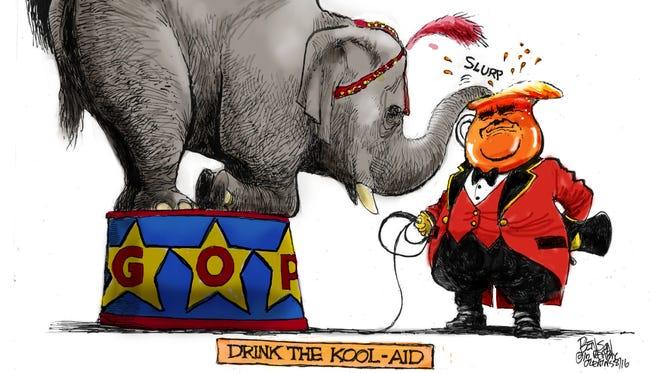 Cartoon for Aug. 26, 2016.