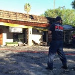 An early morning fire caused more than half a million dollars in damage Thursday to a business complex at Caldwell Avenue and Demaree Street.