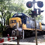 CSX has announced that railroad track work along Frankfort Avenue -- tie and intersection replacement -- has been postponed until this fall.
