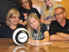 Tayler Rinehart signs with Pima College