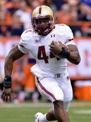 Andre Williams of Boston College led the nation in rushing.
