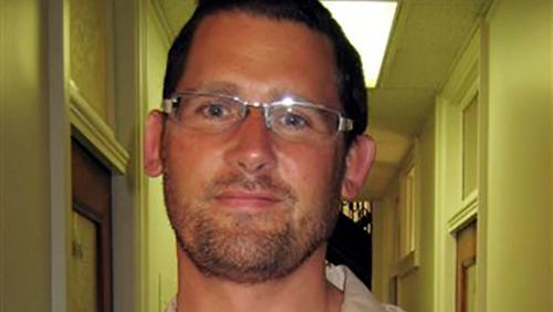 This undated image provided by the FBI shows Ryan Kelly Chamberlain, II,