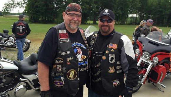 Bill Ricketts (left) and David Weeks Sr.