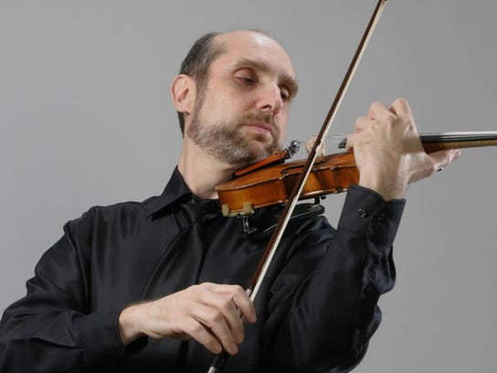 Dr. Leonid Yanovskiy will be one of the featured soloists at the Runge Strings Orchestra concert Tuesday.