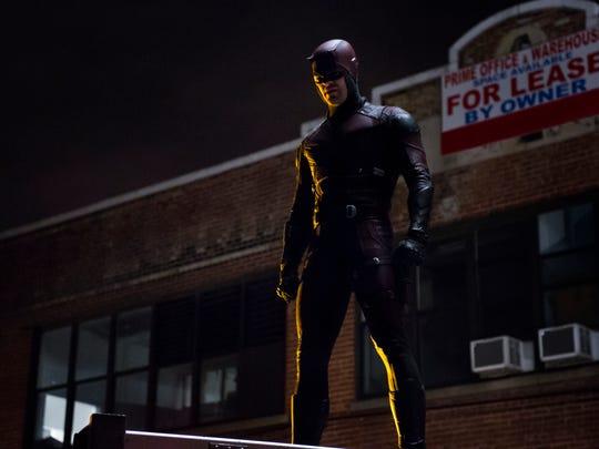"""Charlie Cox stars in """"Daredevil."""""""