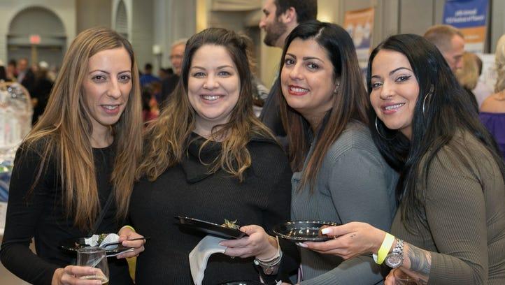 Tatiana, Nicole, Jennifer, Karolina. YCS held The Festival