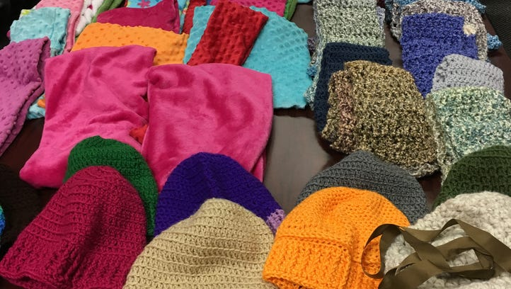 You've done really well making hats, cowls and scarves