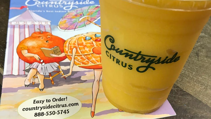Try a delicious slushy at Countryside Citrus.