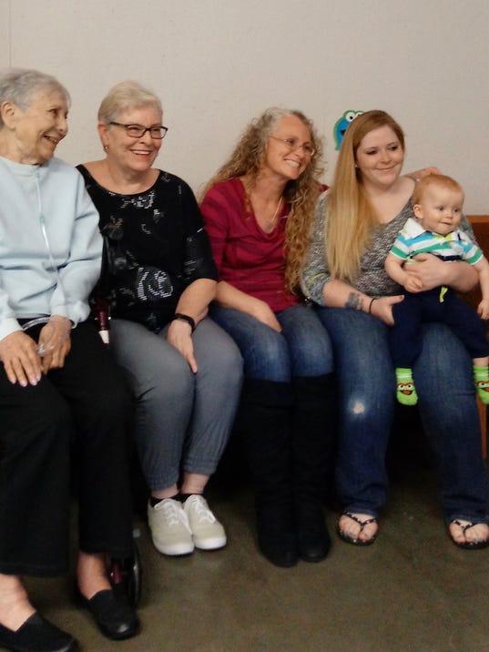 Five Generations: Berg