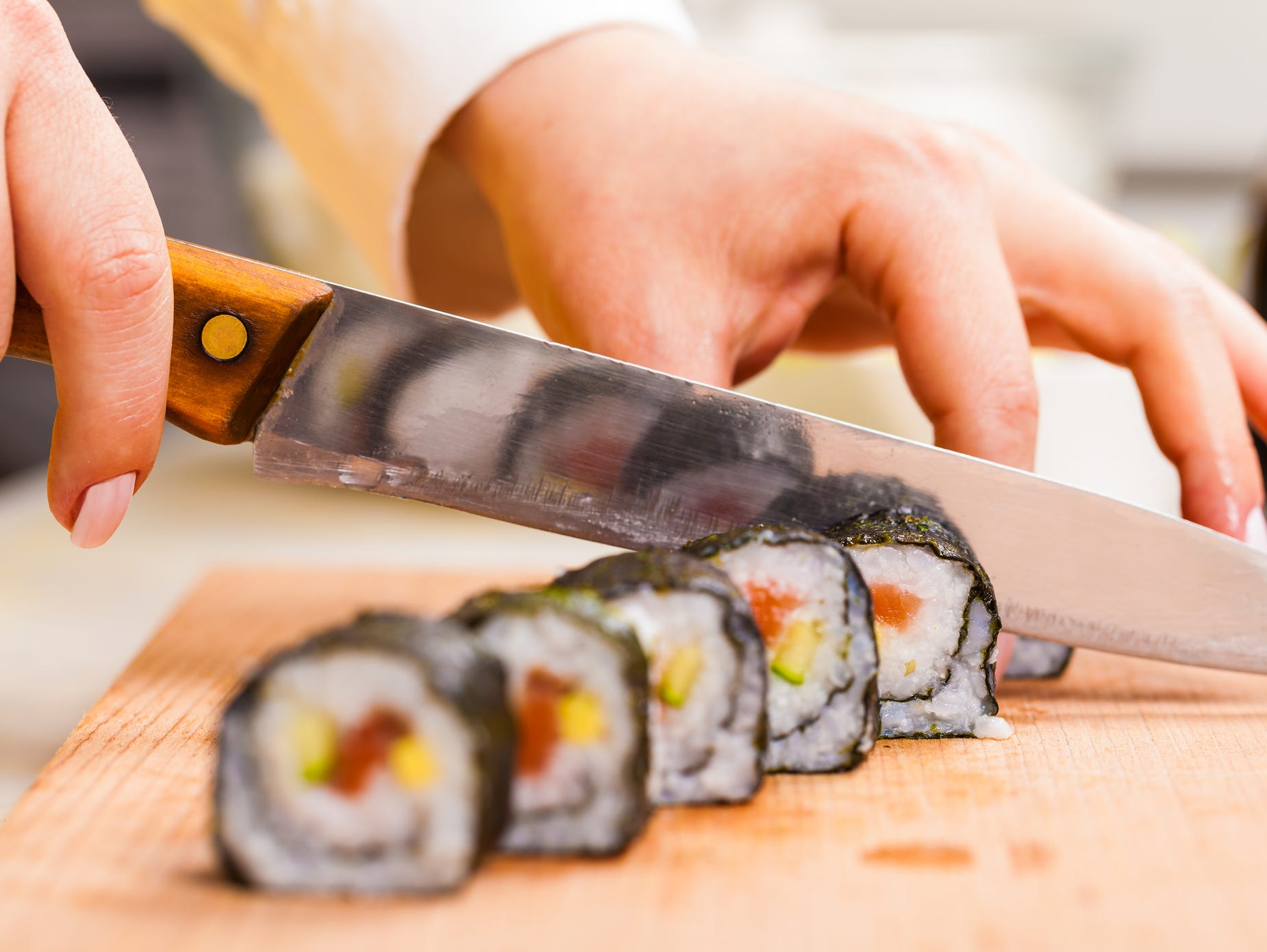 Learn how to make sushi with Chef Walker. $20 discount for Insiders!