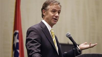Gov. Bill Haslam downplayed concerns raised in an audit about how state officials will measure state employee performance for new merit-based pay raises.