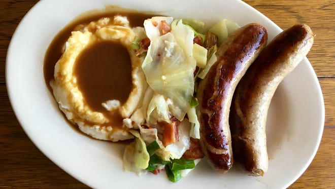 Bangers and mash are a Hot Dish at TP Hoolihan's in North Fort Myers.