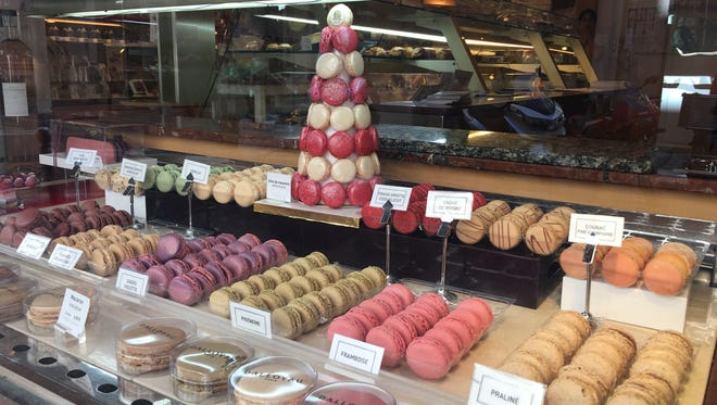 "Awarded the EPV ""living heritage"" label, Dalloyau is renowned for having invented L'Opéra, and offers giant macarons in a dozen flavors."