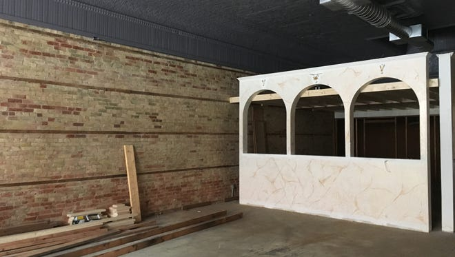 Renovations underway at the former Bilotti's Pizza Garden, 109 N. Broadway, in De Pere, will update the space for Affogato Bar, a new business operated by Vince Nardi.