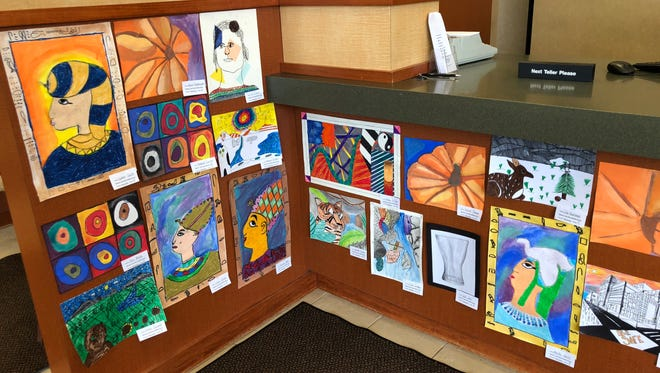 March was National Youth Art month and if you missed this colorful display of SVE student art at the Tioga State Bank, the annual S-VE School District Art Show will be held June 6-7 in the high school gym. It is well worth attending.