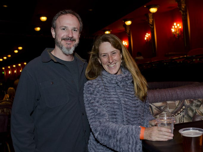 Chris Lynch and Leslie Richardson at Widespread Panic in the Grand Sierra Resort in Reno.