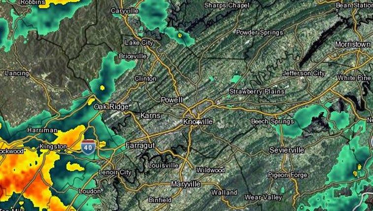 East Tennessee radar
