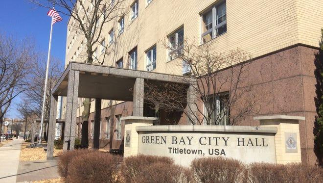 Green Bay City Hall, 100 N. Jefferson Street, Green Bay.
