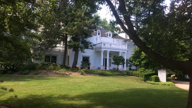 The Roger Minahan House at 3430 Langlade Road is one of 29 properties in Allouez that will be nominated for the National Historic Resigter.