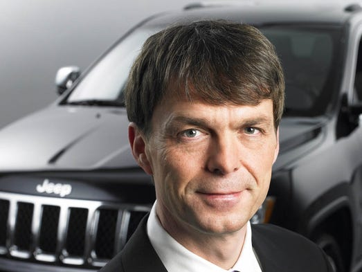 Mike Manley is head of Jeep Brand and Ram Brand, FCA--Global,