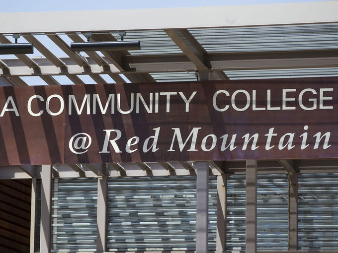 Marquee at Mesa Community College Red Mountain campus